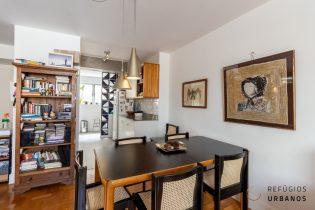 Apartamento Rua Aureliano Coutinho, na Vila Buarque / Santa Cecília. Uma suíte, sala, cozinha, lavabo e lavanderia em 68,30m². Com vaga!