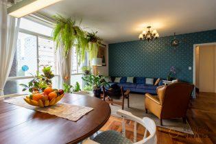 Apartamento de 148m², 3 dormitórios sendo 1 suíte. Com Janelão na Vila Buarque, todos os ambientes sociais estão voltados para o sol da manhã