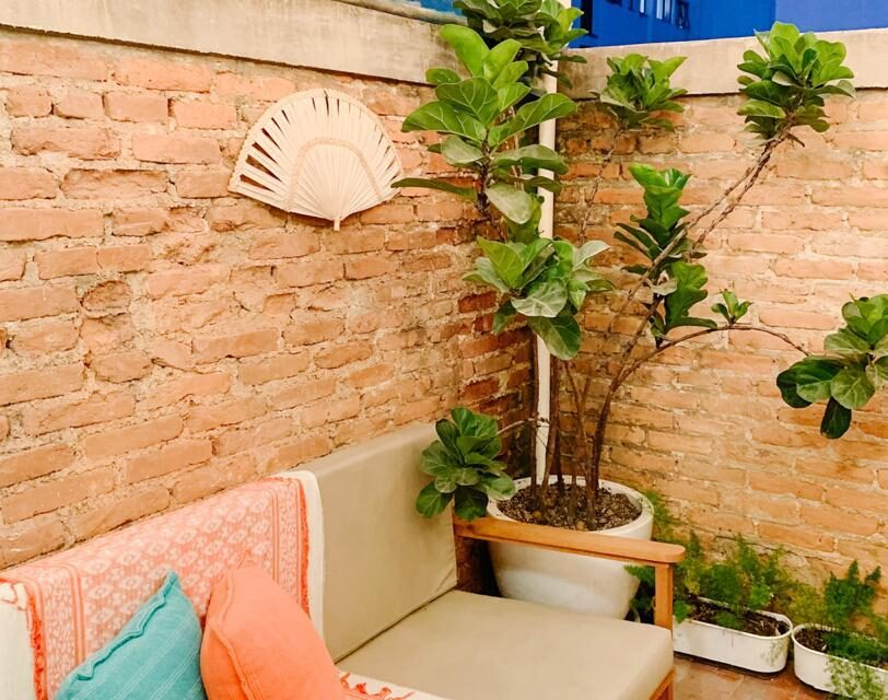 Apartamento de 63 metros de área útil, com 2 dormitórios, um terraço delicioso, na Pamplona, pronto para ser seu, no Jardim Paulista!
