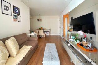 Na Pompeia, um apartamento nas alturas, varanda com churrasqueira, 3 dormitórios sendo 1 suíte, 2 vagas demarcadas, perfeito para a família.
