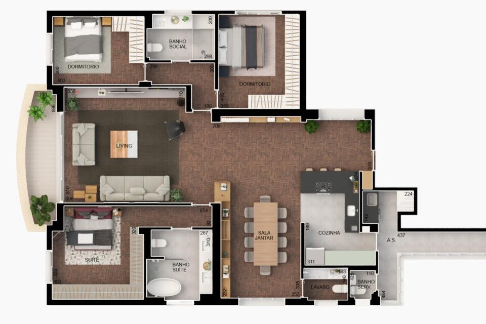 Apartamento em plena Av. Higienopolis, com 176m2, varanda, 3 quartos, sendo 1 suite e uma vaga, completamente reformado em prédio charmoso dos anos 40.