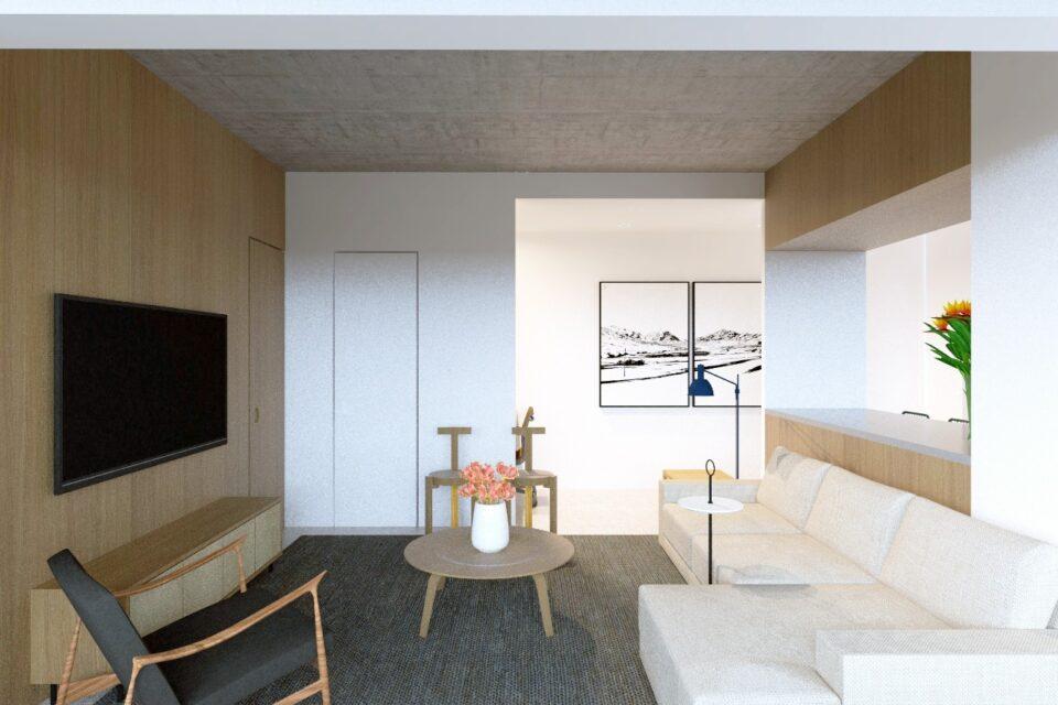 Rua Brigadeiro Galvao, na Barra Funda, um empreendimento novo, com lazer completo. 71m2, 1 dormitório, espaço para home office e varanda linda!
