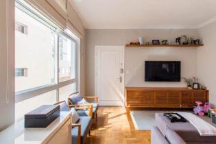 Apartamento reformado em ótima localização no Jardim América