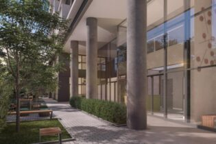 Vila Nova Conceição. Lançamento! Apartamento com 27m2, 1 quarto, cozinha americana, varanda com vista. Andar alto. Prédio com lazer completo.