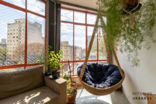 Localizado no centro de São Paulo, no início da Av. Rio Branco, próximo à Av. Ipiranga, encontramos este charmoso apartamento de 44m2.