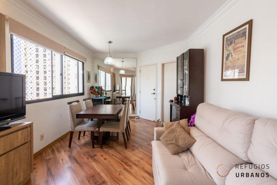 Apartamento com 94m², 3 quartos (1 suíte), varanda e 2 vagas, com lazer e em ótima localização, em Pinheiros!