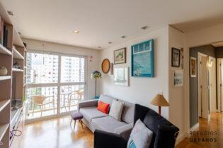 Moema Pássaros, apartamento com 91 m2, planta versátil com 3 quartos, varanda, 1 vaga. Curta caminhada do Ibirapuera.