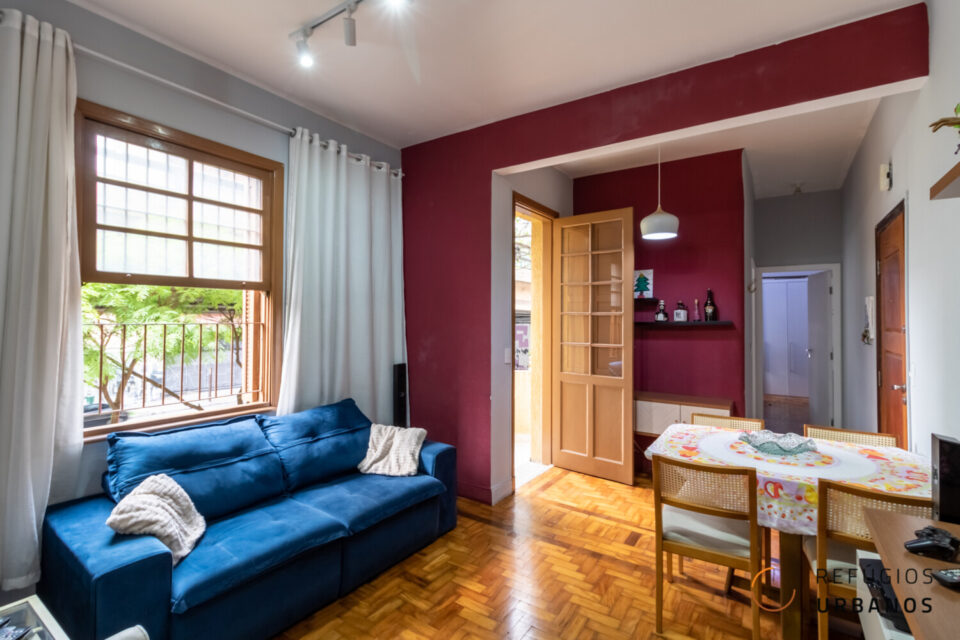 Apartamento 1 dormitório e 50m² em um Predinho da vila Buarque. Assim vai estar perto de tudo: Shopping Higienópolis, Mackenzie ou Santa Casa.